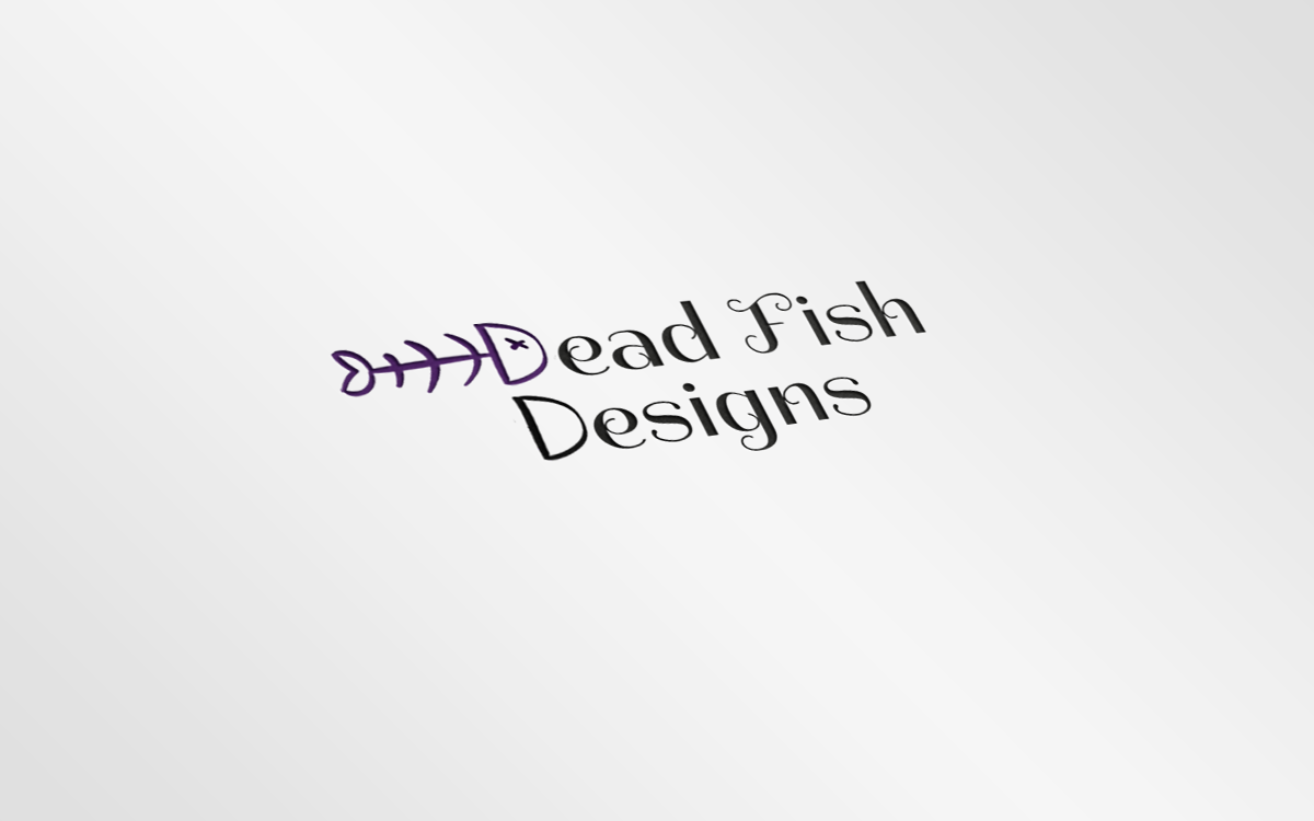 DeadFish Logo Mockup